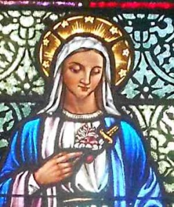 Thy raiment * is white as snow, and thy countenance as the sun. 2nd Antiphone, Feast of the Immaculate Conception 1962 Office